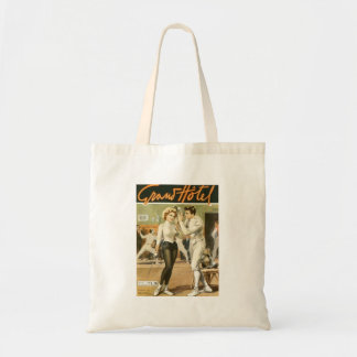 Grand Hotel Fencing Poster Budget Tote Bag
