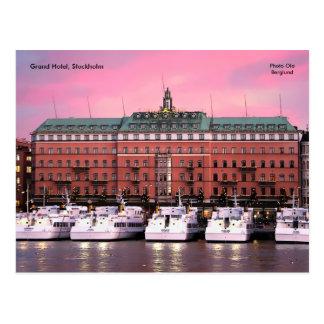 Grand Hotel, Stockholm, Photo Ola... Postcard