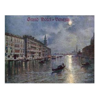 Grand Hotel Venezia Vintage Postcard