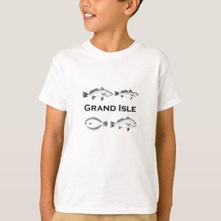 Grand Isle Louisiana Saltwater Fishing - Game Fish T-Shirt