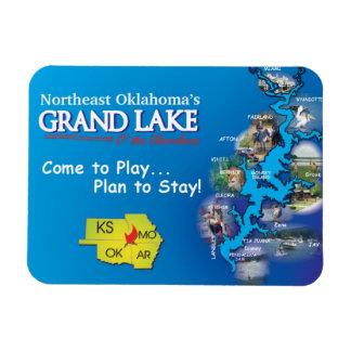 Grand Lake Oklahoma magnet
