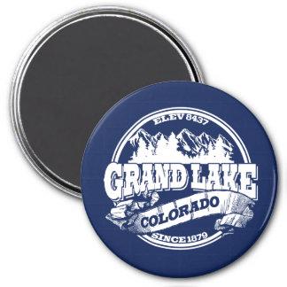 Grand Lake Old Circle Blue 7.5 Cm Round Magnet