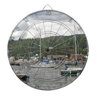 Grand Marais Sail Boats Dart Board