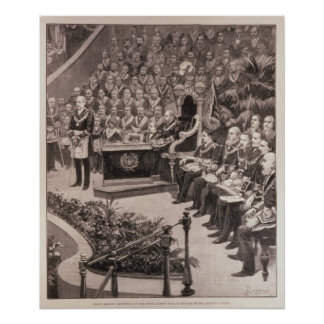 Grand Masonic Gathering in the Royal Albert Poster
