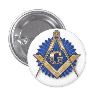 Grand Masonic Lodge 3 Cm Round Badge