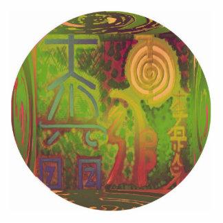 Grand Master - Reiki Photo Sculpture Badge
