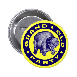 Grand Old Party Button