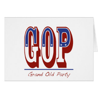 Grand Old Party Greeting Card