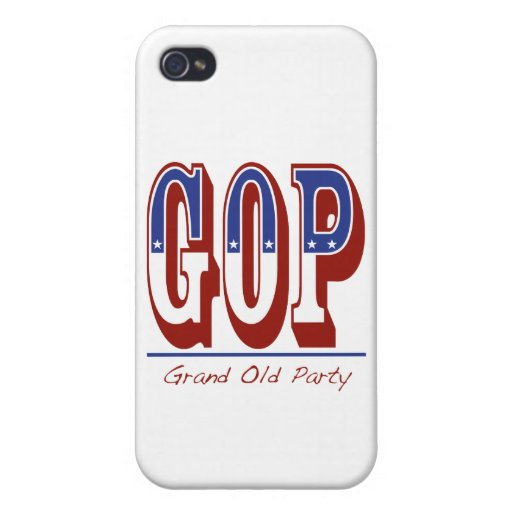 Grand Old Party Cases For iPhone 4