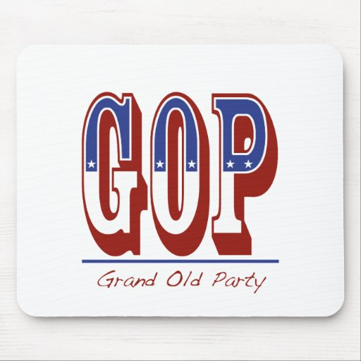 Grand Old Party Mousepad