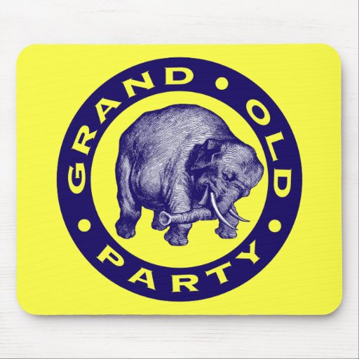 Grand Old Party Mousepads