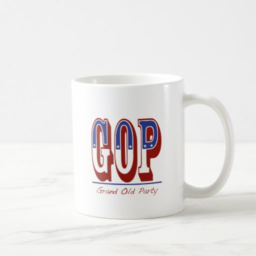 Grand Old Party Coffee Mugs