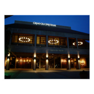 Grand Ole Opry - Nashville, Tennessee Poster