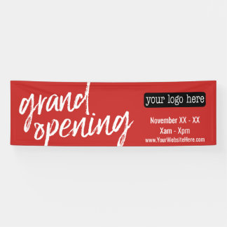 Grand Opening Advertisement - Add Logo and Details