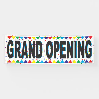 Grand Opening Business Banner