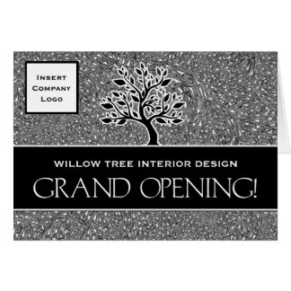 Grand Opening Business Logo Announcement