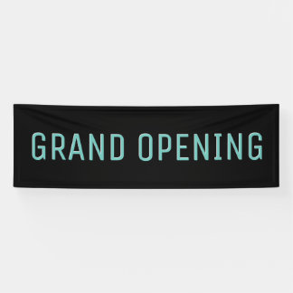 Grand Opening Outdoor Banner Business Retail Sign