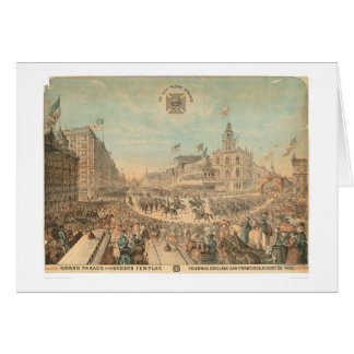 Grand Parade of the Knights Templar (1294A) Card
