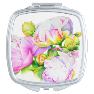 Grand Peony Compact Mirrors