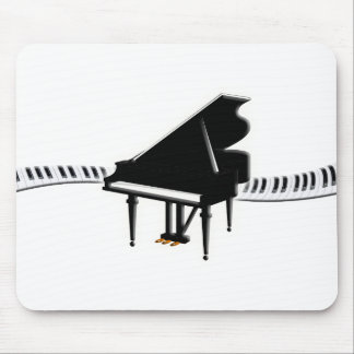 Grand piano and Keyboard Mouse Pad