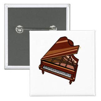 Grand Piano Brown Bird s Eye View Button