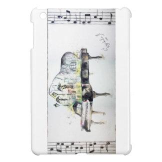 Grand piano cover for the iPad mini