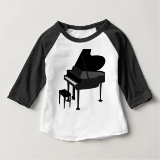 Grand Piano Drawing Baby T-Shirt