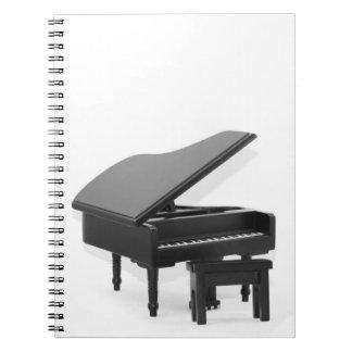 Grand piano notebooks
