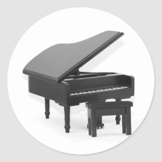 Grand piano sticker