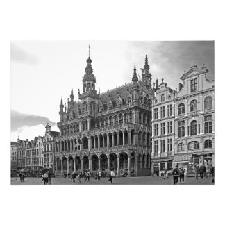 Grand Place. Bread house - King's house Photo Print