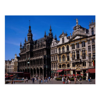 Grand Place, Brussels, Belgium Postcard