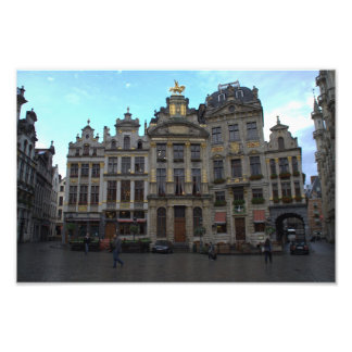 Grand Place Brussels Photograph