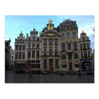 Grand Place, Brussels Postcard