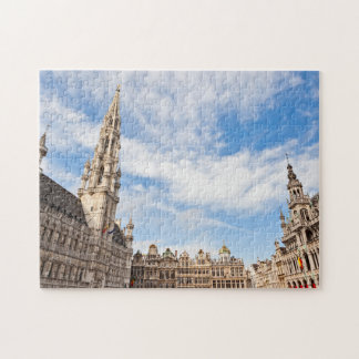 Grand Place in Brussels Jigsaw Puzzle