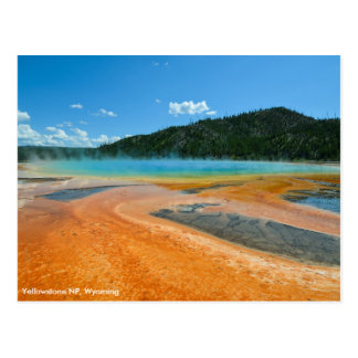 Grand Prismatic Spring in Yellowstone NP Postcard