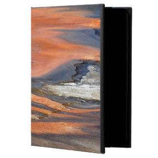 Grand Prismatic Spring Runoff iPad Air Covers