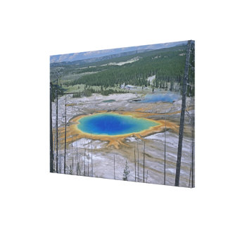 Grand Prismatic Spring, Yellowstone National Park, Canvas Prints