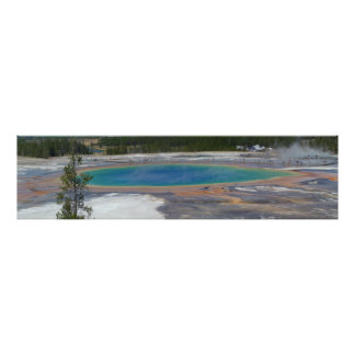 Grand Prismatic Spring Yellowstone National Park Poster