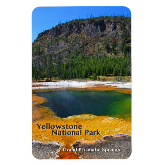 Grand Prismatic Springs ~ Yellowstone, Wyoming Magnet