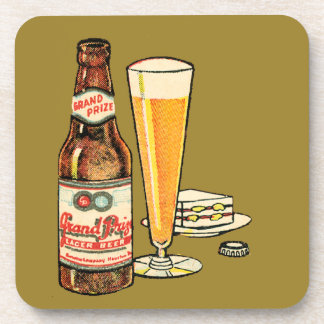 Grand Prize Lager Beer Coaster