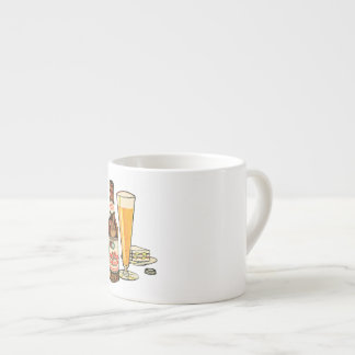 Grand Prize Lager Beer Espresso Cup