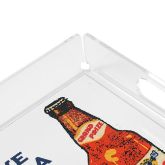 Grand Prize Lager Beer Take Home A Case Acrylic Tray