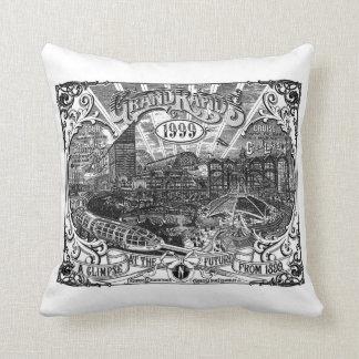 Grand Rapids 1999 Artwork Pillow