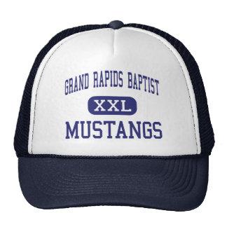 Grand Rapids Baptist - Mustangs - Grand Rapids Mesh Hat