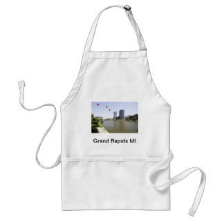 Grand Rapids City Michigan Adult Apron