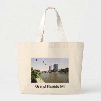 Grand Rapids City Michigan Canvas Bag