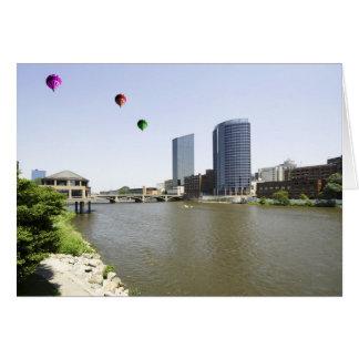 Grand Rapids City Michigan Greeting Card