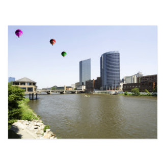 Grand Rapids City Michigan Postcard