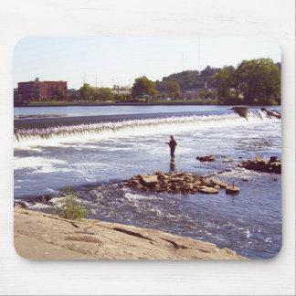Grand Rapids Fisherman Mouse Pad