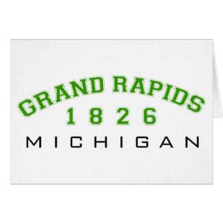 Grand Rapids, MI - 1826 Card